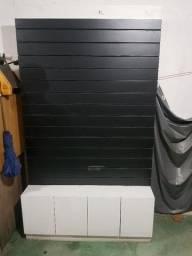 Painel Expositor com armário baixo
