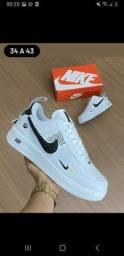 Nike Air force branco/preto  PROMOCIONAL