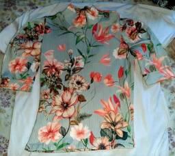 Blusas  manguinhas