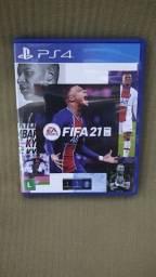 Troco FIFA 21 por jogos de ps5