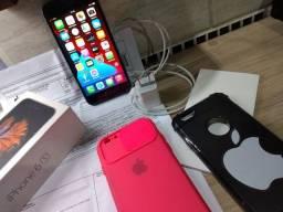 iPhone 6 s  32 GB. Novo na caixa apenas um mês tirado da loja   bateria 99%