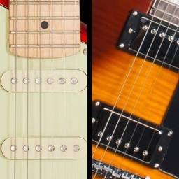Troca de captador de guitarra