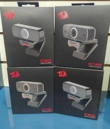 Câmera Webcam Redragon Hitman USB Entrega Grátis Loja Física