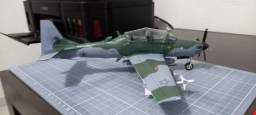 Papercraft Super Tucano