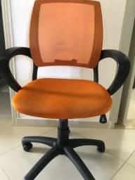 Cadeira Escritório Giratória Tela Meet