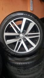Rodas aro 22 Hilux pneus delinte