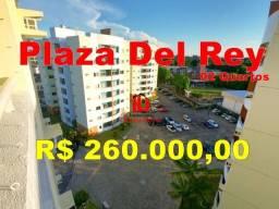 Título do anúncio: Plaza Del Rey, 60M² 02Quartos 02 Quartos com armários e ar condicionado
