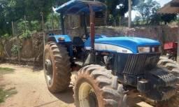 Trator agrícola New Holland Ford 7630