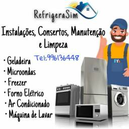 Conserto de geladeira ar-condicionado freezer etc...