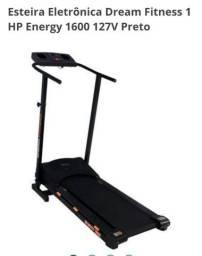 Esteira Eletrônica Dream Fitness 1 HP Energy 1600 127V Preto
