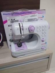 Máquina de costura portátil caseira(parcelo em até 10 x no cartão)