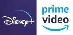 DISNEY Plus + PRIME VIDEO - 15 reais no Pix (Pixar, Marvel, Star Wars. etc)