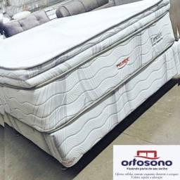 cama casal de luxo- base mais colchão 05