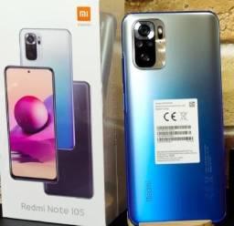 Note 10S Cinza/Azul/Branco 6+128Gb