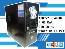 Gabinete CPU amd