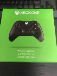 Controle Xbox One Xone Preto Carbon black