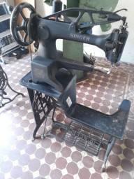 Maquina costura giratória para sapatereiro