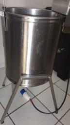 Título do anúncio: Fritadeira elétrica água e óleo 30 litro aceito cartão preço negociavel
