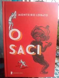 """Livro """"O Saci"""" de Monteiro Lobato"""