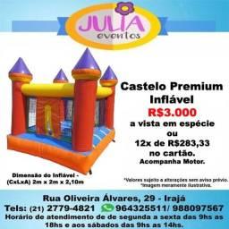 Castelo Premium Inflável