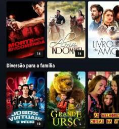 Olá pessoal qui gosta de filmes série novelas latinas e outras coisas