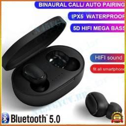 Fone De Ouvido A6s Bluetooth Sem Fio Airdots Preto
