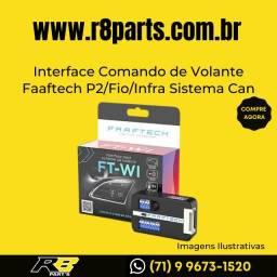 Interface Faaftech Comando de Volante P2/Fio/Infra Sistema Can