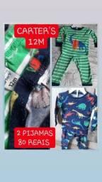 Pijama cartes 2 unidades