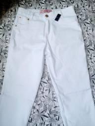 Calça Jeans Branca (Nova Top)