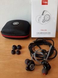 Fone de ouvido TRN V90 com ou sem Mic + Case