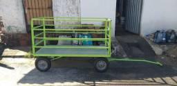Carroça , carro reboque para diversos trabalhos