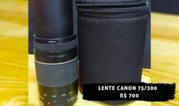 Lente 70/300 Canon