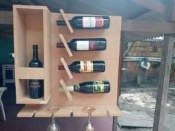 Adega de vinho feito  em mdf 15 mm cru