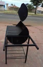 Churrasqueira  tambor 200 litros
