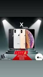 iPhone X 64GB - Apenas 2.899