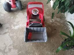 Caminhão caçamba infantil a bateria