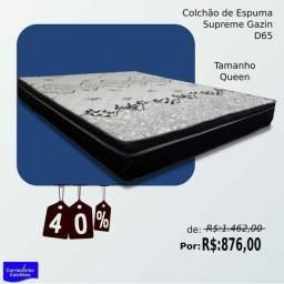Outlet Colchão de espuma Gazin tamanho queen (158x198)