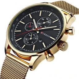 Relógio Fashion Gold