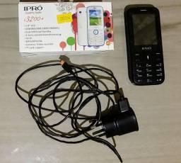 Celular Ipró simples ideal para fazer e receber ligações, nunca foi usado