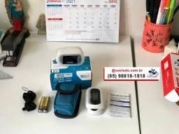 Oximetro com Alarme novo Portatil e Digitial *