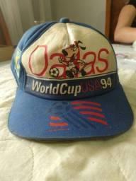 Boné antigo, raridade Copa do Mundo 94