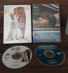 DVDs Fica Comigo Esta Noite e O Ano em que Meus Pais Saíram de Férias