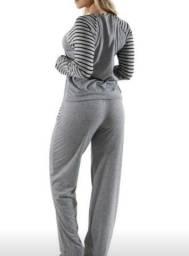 Pijama cinza