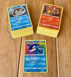 Lote de cartas Pokémon