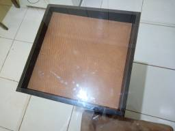 Vende-se mesa de vidro e troco