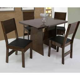 mesa Destak com 4 cadeiras