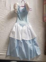 Vestido Cinderela Infantil - 5 anos
