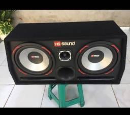 Caixa de Som Amplificada HS Sound