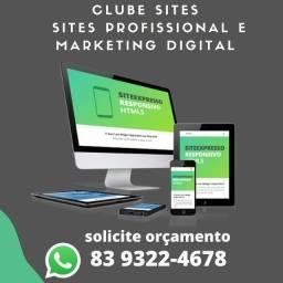 Site Empresarial e Pessoal