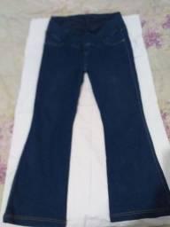 Calça jeans para gestante Tam 44